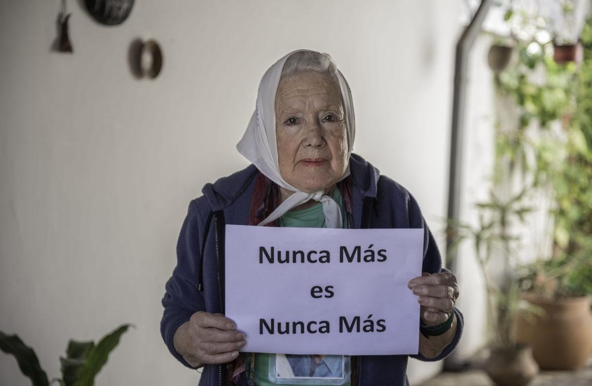 """Norita Cortiñas: """"No nos vamos a callar"""""""