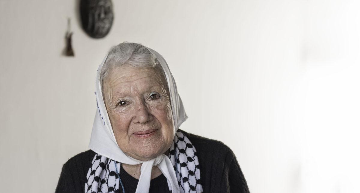 """Norita Cortiñas: """"No al desalojo en Guernica, sí a la vivienda digna"""""""