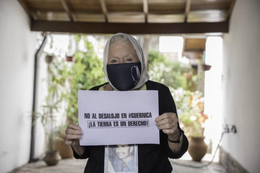 """Norita Cortiñas: """"La tierra para vivir es un derecho"""""""