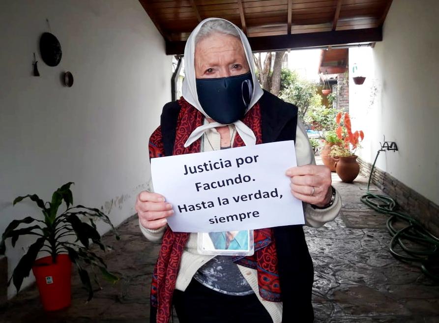 """Norita Cortiñas: """"No oculten más la infamia"""""""