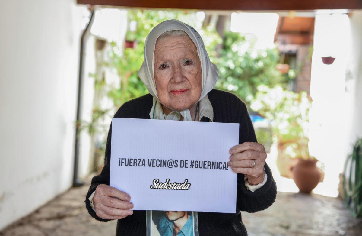 """Norita Cortiñas: """"Somos el país de los desprotegidos"""""""
