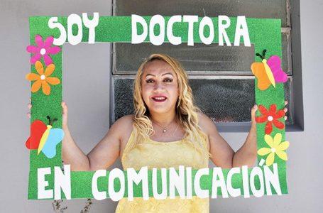 Migrante, travesti, trans y doctora tenía que ser