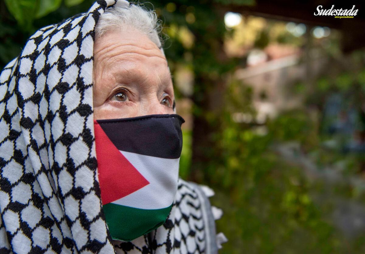 """Norita Cortiñas: """"Dejen vivir a los palestinos en su tierra"""""""