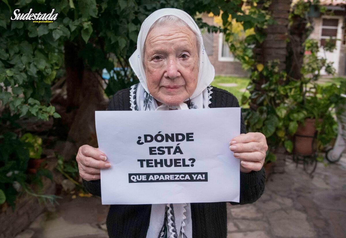 """Norita Cortiñas: """"Seguimos buscando a Tehuel"""""""