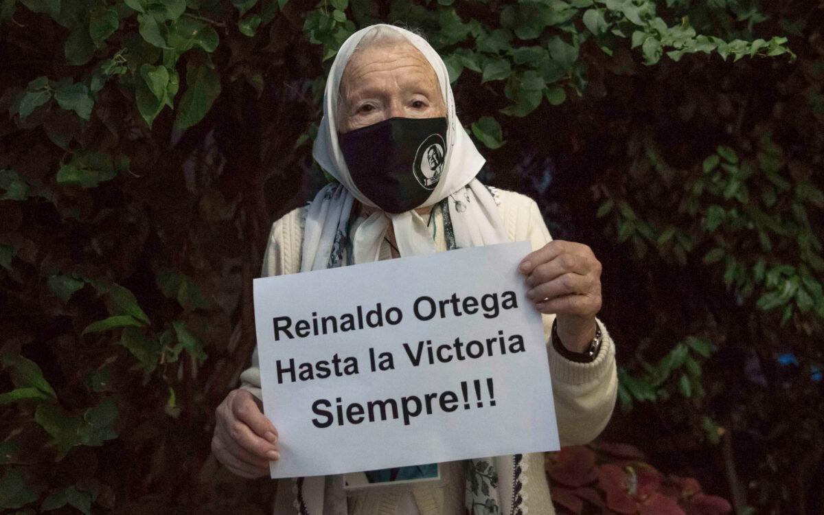 """Norita Cortiñas: """"Hasta la victoria siempre, Reinaldo"""""""