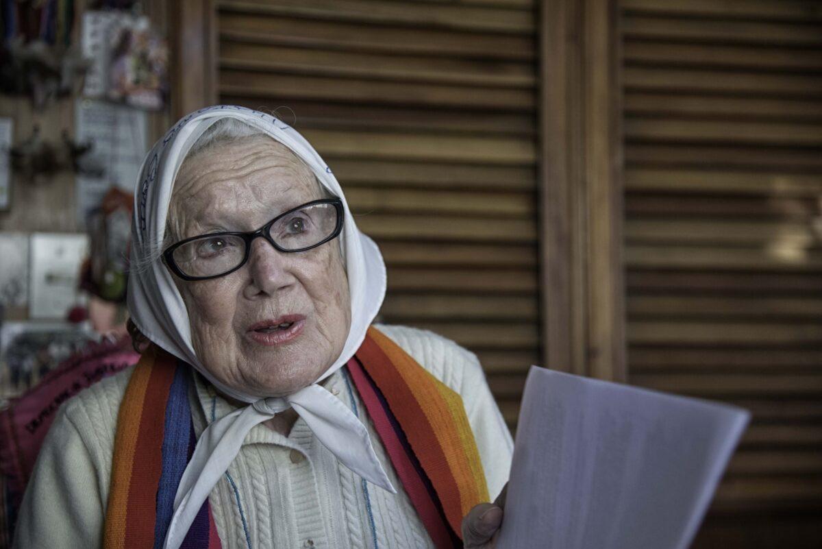 """Norita Cortiñas: """"El Dipy elogió la dictadura de una manera humillante para el pueblo"""""""