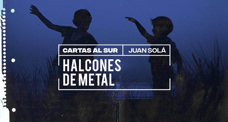 Halcones de metal