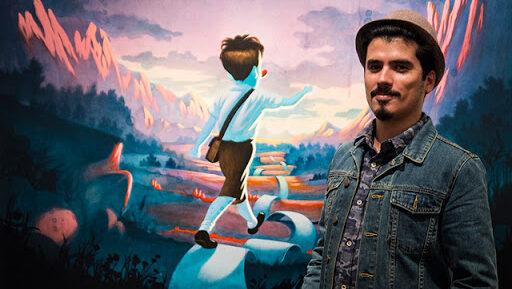 """Víctor Castillo: """"Las escuelas de arte necesitan que seas una extensión del discurso que tienen"""""""