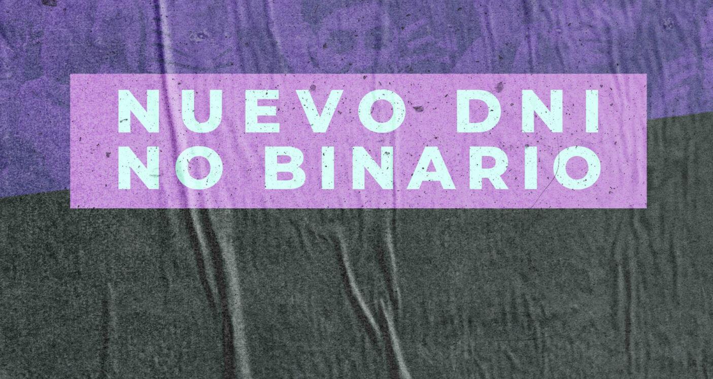Nuevo DNI no binario