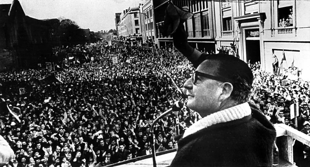 Allende. Fue en la moneda